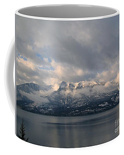 Sun On The Mountains Coffee Mug