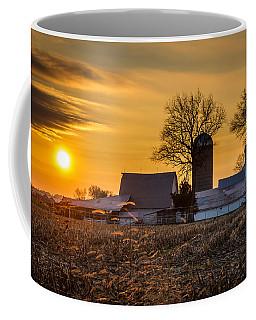 Sun Rise Over The Farm Coffee Mug