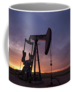 Sun Setting On Big Money Coffee Mug by Melany Sarafis