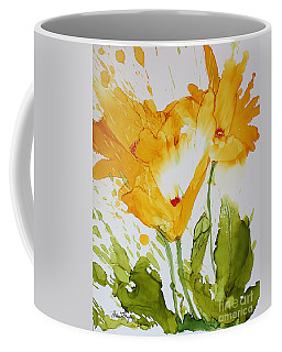 Sun Splashed Poppies Coffee Mug