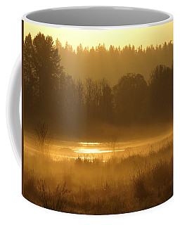 Sun Up At The Refuge Coffee Mug