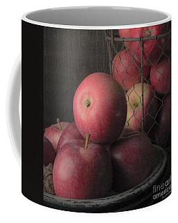 Sun Warmed Apples Still Life Square Coffee Mug