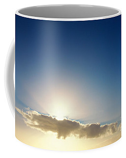 Sunbeams Behind Clouds Coffee Mug