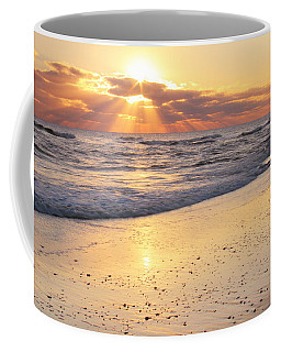 Sunbeams On The Beach Coffee Mug