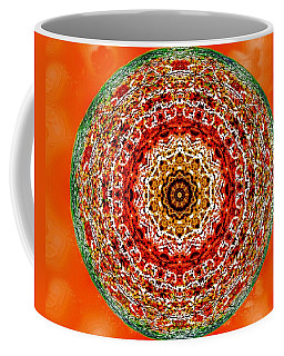 Coffee Mug featuring the digital art Sunburst Celebration by Aliceann Carlton