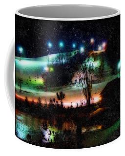 Sunburst In The Snow Coffee Mug