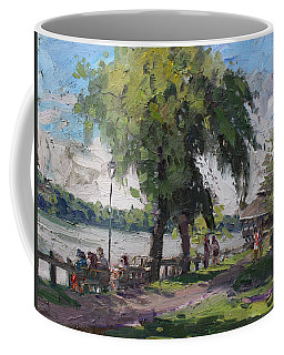 Sunday At Lewiston Waterfront Park Coffee Mug