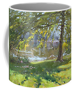 Sunday By The Pond In Port Credit Mississauga Coffee Mug