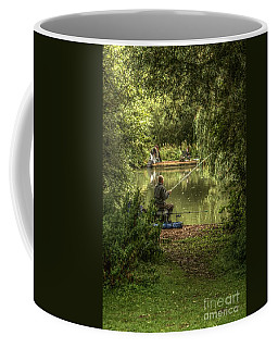Sunday Fishing At The Lake Coffee Mug