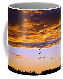 Gods Outdoor Church Sunday Coffee Mug