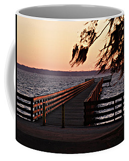 Sundown At Shands Dock Coffee Mug