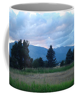 Sundown At The Bitterroots Coffee Mug