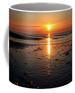 Sundown At The North Sea Coffee Mug