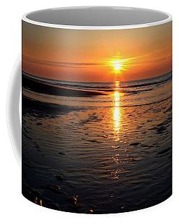 Sundown At The North Sea Coffee Mug