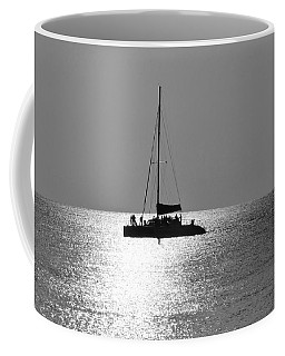 Sundown Sail Coffee Mug