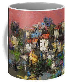 Sundown Touches The Neighborhood Coffee Mug