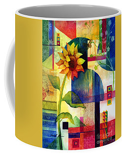 Sunflower Collage Coffee Mug