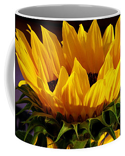 Coffee Mug featuring the photograph Sunflower Crown by Deborah  Crew-Johnson