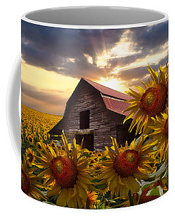 Sunflower Dance Coffee Mug
