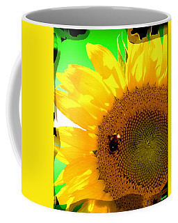 Coffee Mug featuring the digital art Sunflower by Daniel Janda