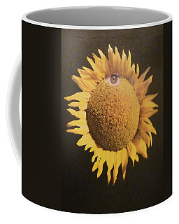 Sunflower Eye Coffee Mug