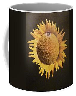 Sunflower Eye Coffee Mug by Douglas Fromm