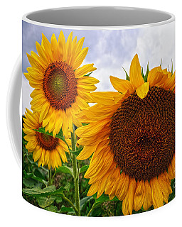 Sunflower Mama And Her Daughters  Coffee Mug
