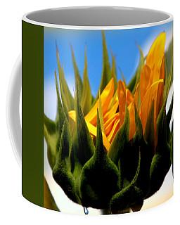 Sunflower Teardrop Coffee Mug