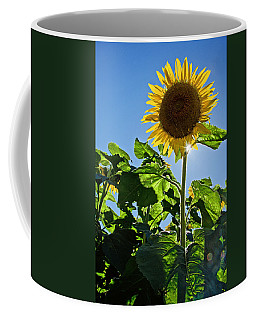 Sunflower With Sun Coffee Mug