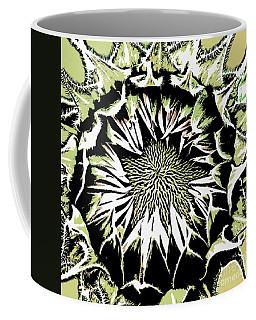 Coffee Mug featuring the digital art Sunflower1 by Dragica  Micki Fortuna