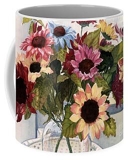 Sunflowers Coffee Mug by Barbara Jewell