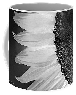 Sunflowers Beauty Black And White Coffee Mug