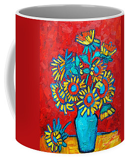 Sunflowers Bouquet Coffee Mug