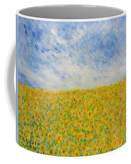 Sunflowers  Field In Texas Coffee Mug