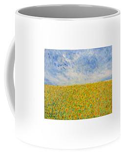 Sunflowers  Field In Texas Coffee Mug
