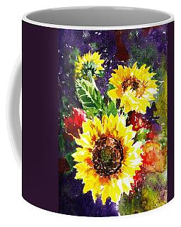 Sunflowers Impressionism Coffee Mug