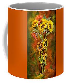Sunflowers In Sunflower Vase Coffee Mug