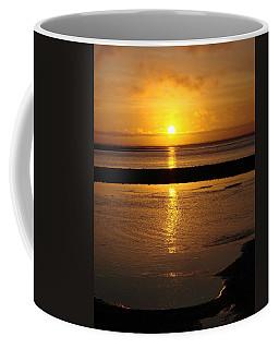 Coffee Mug featuring the photograph Sunkist Sunset by Athena Mckinzie
