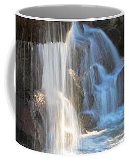 Sunlight On The Falls Coffee Mug by Deb Halloran