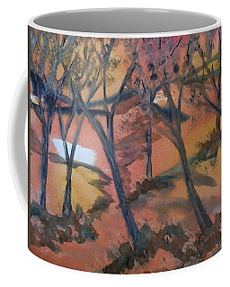 Sunlit Forest Coffee Mug