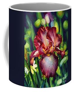 Sunlit Iris Coffee Mug