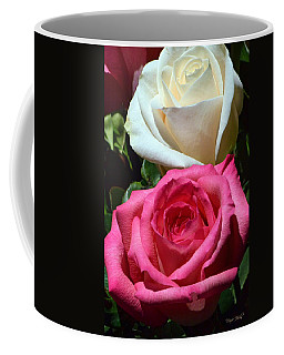 Sunlit Roses Coffee Mug