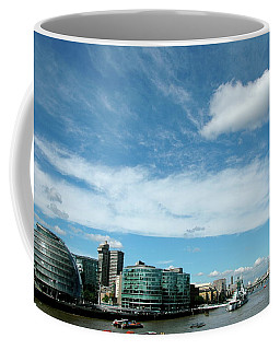 Coffee Mug featuring the photograph Sunny Day London by Jonah  Anderson