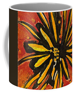 Coffee Mug featuring the painting Sunny Hues Watercolor by Joan Reese