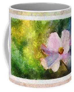 Sunny Pink Cosmos Coffee Mug