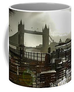 Sunny Rainstorm In London England Coffee Mug
