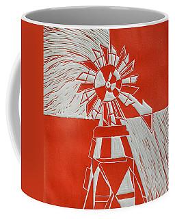 Sunny Windmill Coffee Mug by Verana Stark