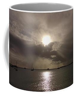 Sunrays Over Simpson Bay Coffee Mug
