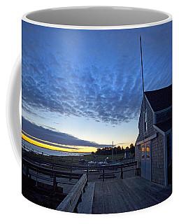 Sunrise At Barnstable Yacht Club Coffee Mug