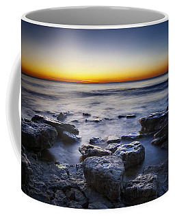 Sunrise At Cave Point Coffee Mug